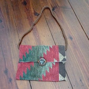 Artisan Aztec Purse Pocketbook